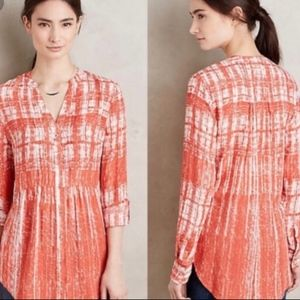 Anthropology Maeve Calia Blouse Size 12
